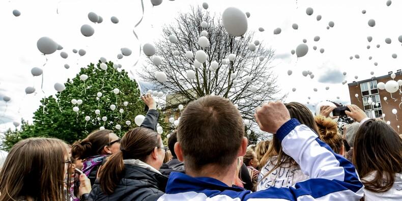 Angélique: une marche blanche rassemble 3.300 personnes