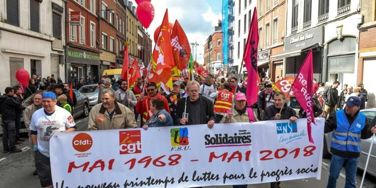 1er Mai: la manifestation parisienne phagocytée par les militants d'extrême gauche