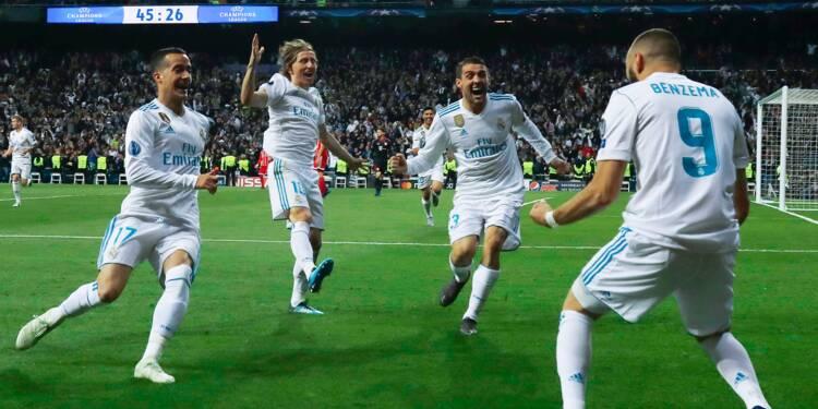 Ligue des champions: Benzema offre une 3e finale d'affilée à l'invincible Real