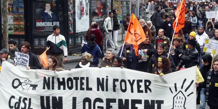"""Logement: un rapport s'alarme du """"décrochage"""" des foyers modestes"""