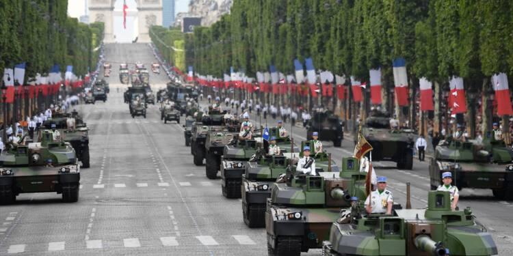 Dépenses militaires: la France rétrograde à la 6e place
