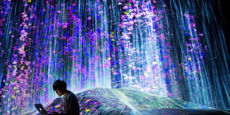 A Tokyo, un musée numérique pour repousser les frontières de l'art