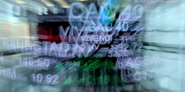 La Bourse de Paris finit en baisse au terme d'une séance terne