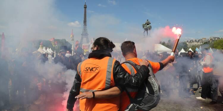 SNCF: la cagnotte en soutien aux cheminots dépasse un million d'euros