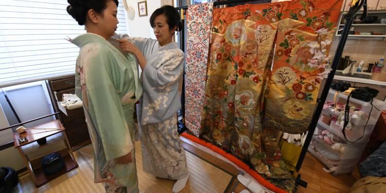 Au Japon, le kimono en quête d'un nouveau souffle