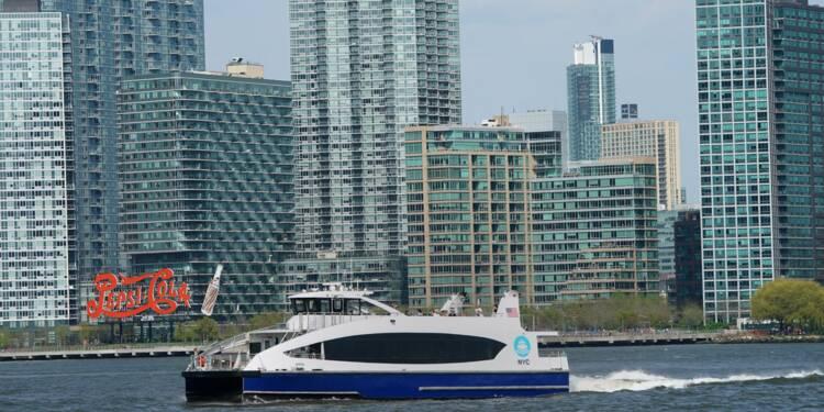 """Les nouveaux ferries new-yorkais, une """"success story"""" très subventionnée"""