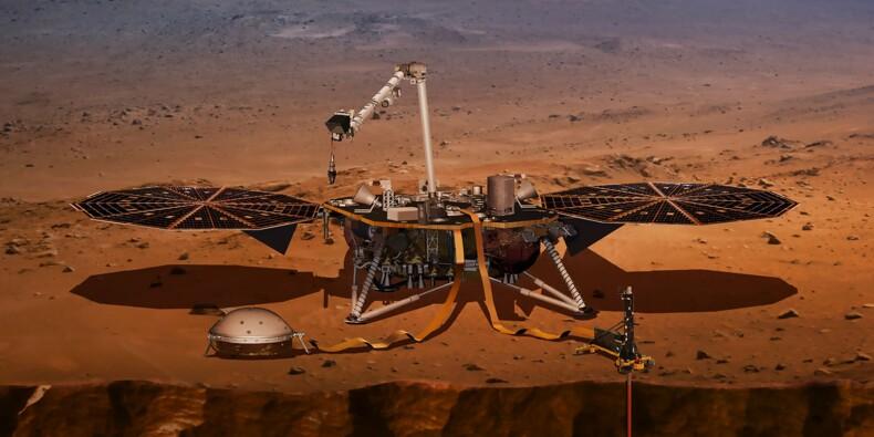 La sonde InSight fait route vers Mars pour étudier les séismes
