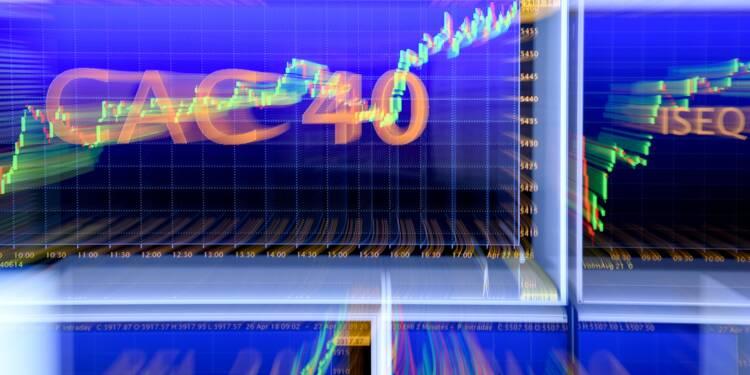 La Bourse de Paris cède un peu de terrain face aux tensions commerciales