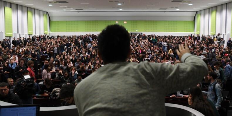 Universités : reconduite du blocage à Nanterre, affrontements à Grenoble