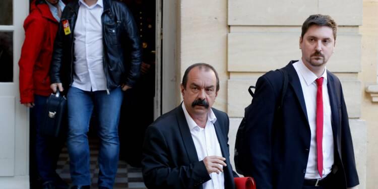 """SNCF: """"Pour nous, la grève se poursuit"""", dit la CGT Cheminots reçue à Matignon"""