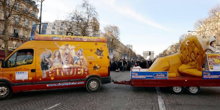 Le cirque Pinder en liquidation: les clowns n'ont plus le coeur à rire
