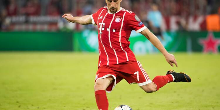 Bayern Munich: Ribéry prolonge jusqu'en juin 2019