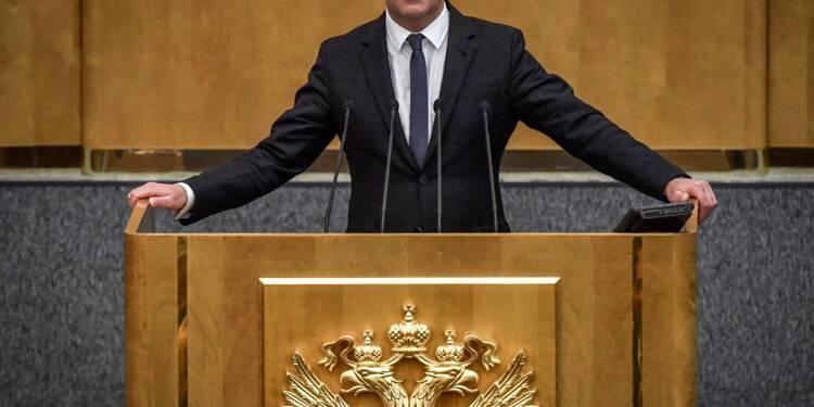 Dmitri Medvedev nommé Premier ministre par les députés russes