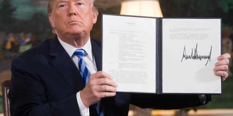 Trump se retire de l'accord nucléaire iranien, défie ses alliés