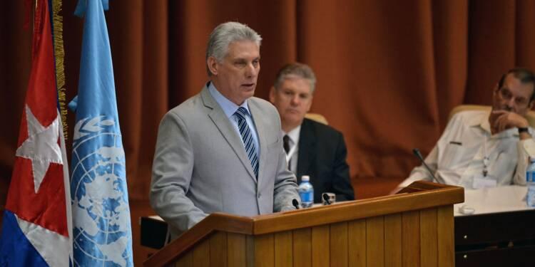 """Cuba : le nouveau président écarte toute """"thérapie de choc"""" économique"""