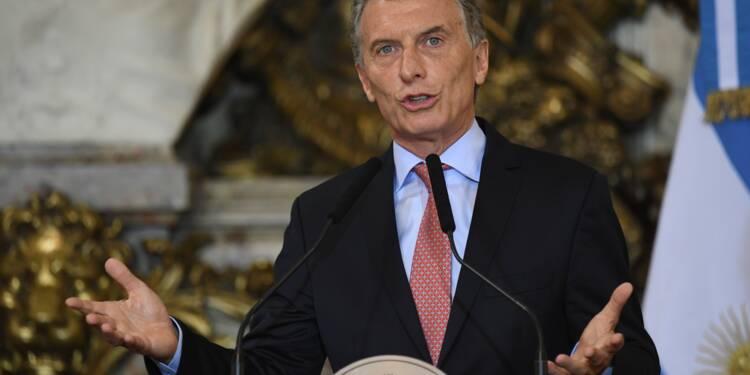 Chahutée sur les marchés, l'Argentine appelle le FMI au secours