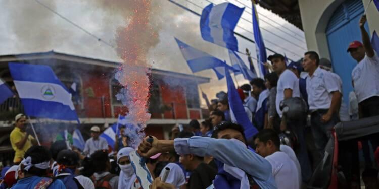 Nicaragua: nouveaux affrontements entre manifestants et policiers