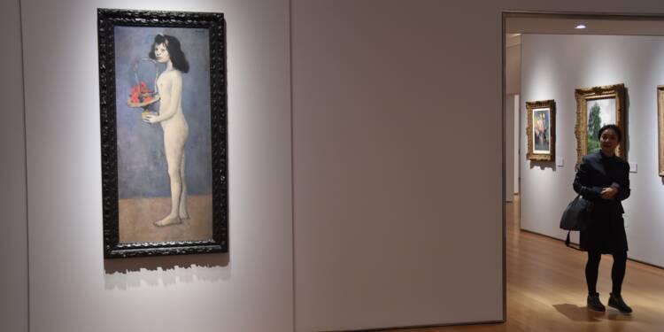 """La """"fillette"""" de Picasso adjugée 115 millions de dollars"""