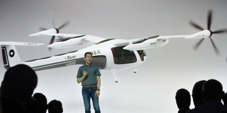 Uber lève un coin du voile sur ses futurs taxis volants
