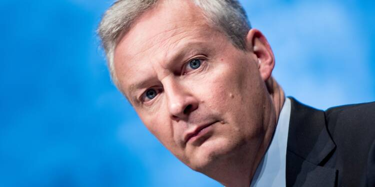 """La stabilité de la zone euro """"menacée"""" si Rome ne respecte pas ses engagements (Le Maire)"""