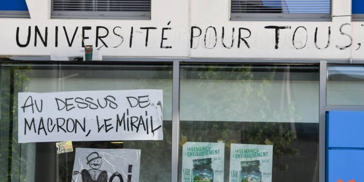 Evacuation policière de l'université Jean-Jaurès à Toulouse, occupée depuis deux mois