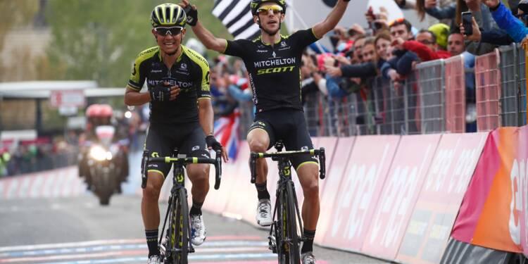 Tour d'Italie: Chaves vainqueur à l'Etna, Simon Yates au pouvoir
