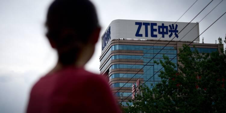 """Sanctions américaines: le géant chinois ZTE a cessé ses """"principales activités"""""""