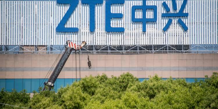 ZTE: Trump dit travailler à une issue avec Pékin