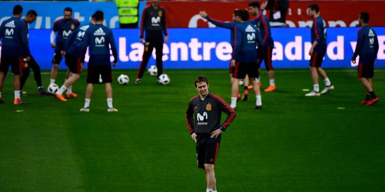 """Espagne: Lopetegui cherche le """"bon dosage"""" entre générations pour le Mondial-2018"""