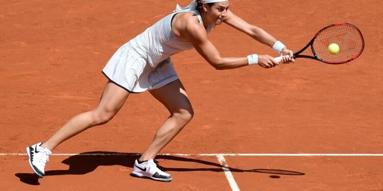 Tennis: Garcia matée en demi-finales par Bertens à Madrid