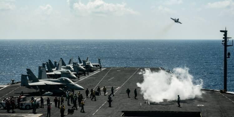 L'USS Harry S. Truman, une ville flottante au service de missions en Syrie