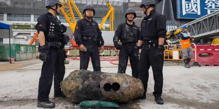 Hong Kong: une bombe de la Seconde guerre mondiale provoque des centaines d'évacuations