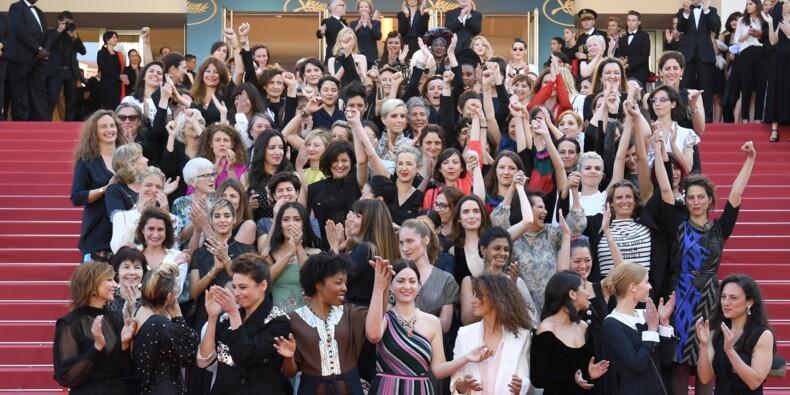"""Après Weinstein, les femmes du 7e art réclament """"l'égalité salariale"""" à Cannes"""