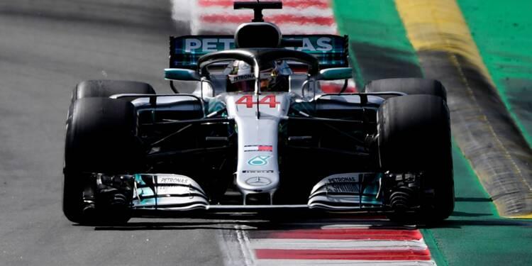 GP d'Espagne: Hamilton (Mercedes) remporte sa deuxième victoire de la saison