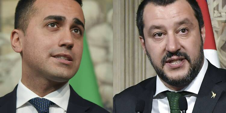 Italie: le programme de gouvernement populiste présenté au président