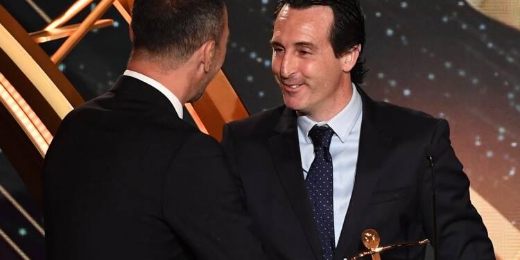 Trophées UNFP: Unai Emery élu meilleur entraîneur de Ligue 1 avant son départ du PSG