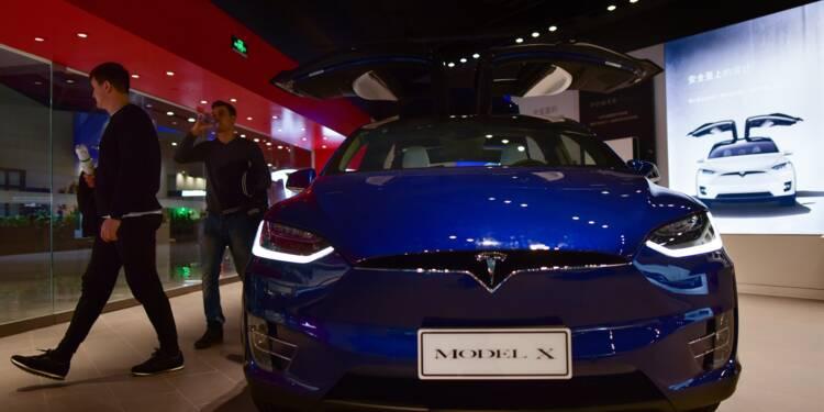 Tesla crée une société en Chine, sur fond d'ouverture de l'industrie automobile