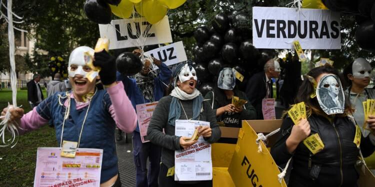 Argentine : plongeon du peso, panique sur les marchés