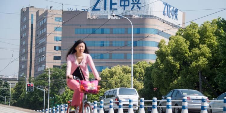 ZTE: Trump dit travailler à une issue avec Pékin, sur fond de tensions commerciales
