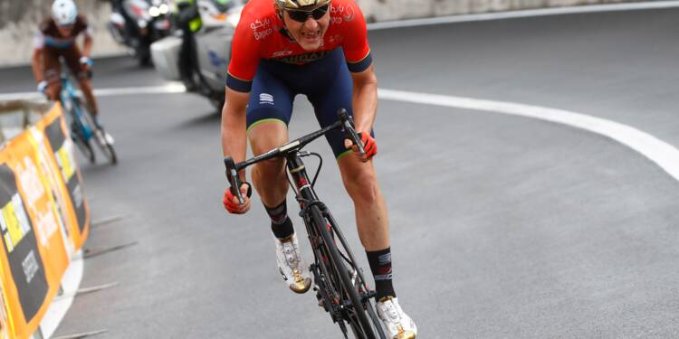 Tour d'Italie: le Slovène Mohoric remporte la 10e étape