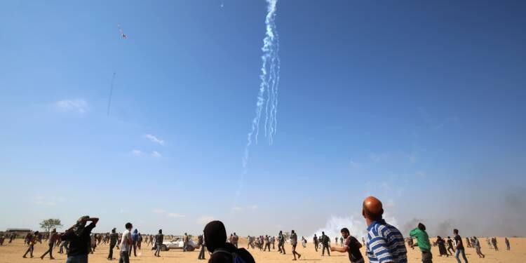 Gaza: un Palestinien tué par des tirs israéliens à la frontière