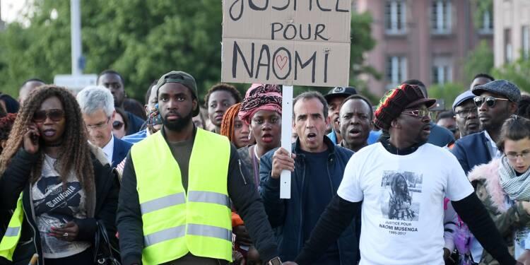 """Marches blanches pour Naomi Mussenga: les cortèges réclament """"justice et vérité"""""""