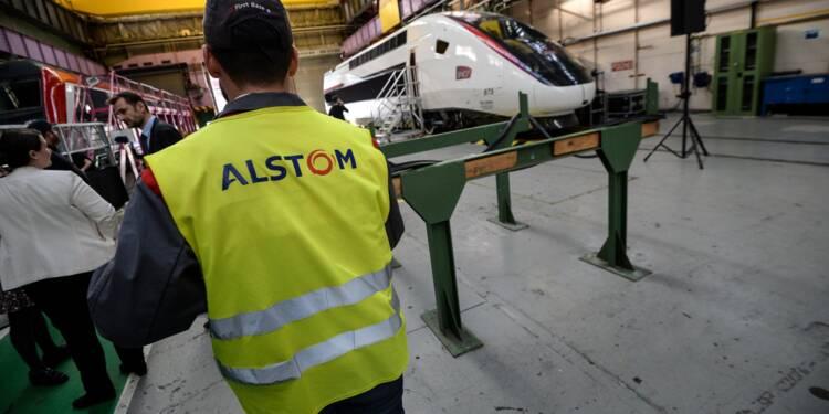 Alstom: bénéfice net annuel en forte hausse avant la fusion avec Siemens