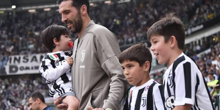 Italie: sobres adieux à la Juventus pour Buffon