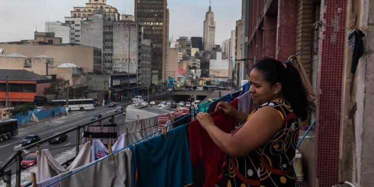 Dans le centre de Sao Paulo, des dizaines de milliers de squatteurs