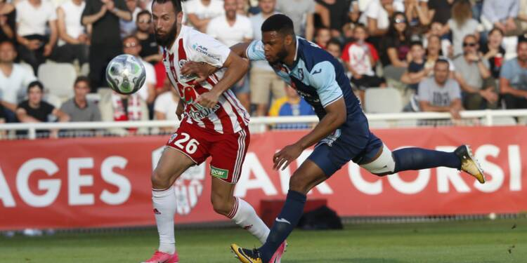 L2: Ajaccio en barrage d'accession en Ligue 1 contre Toulouse