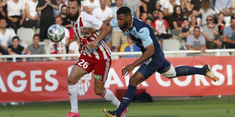 L2: Ajaccio en barrage d'accession en Ligue 1 contre Toulouse