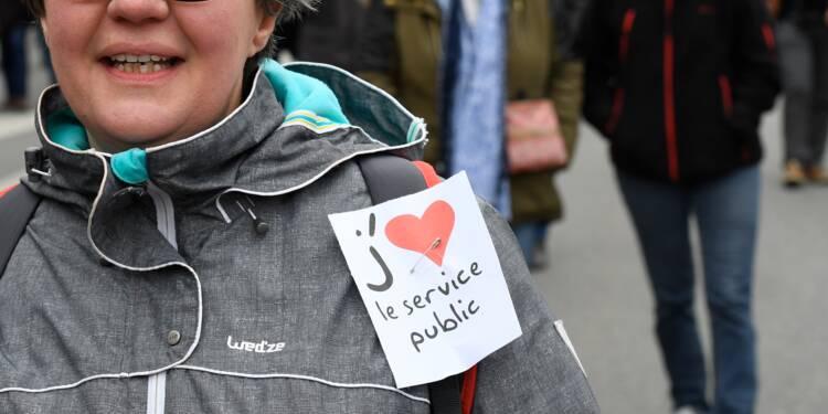 """Services publics """"attaqués"""": les fonctionnaires dans la rue mardi"""