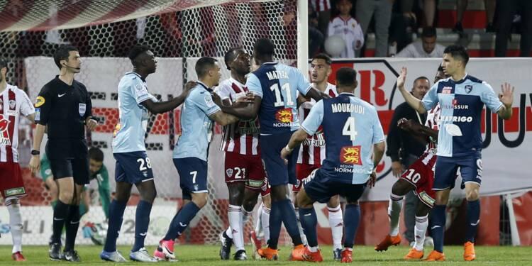 Barrage L2 contre Ajaccio: Le Havre veut gagner sur tapis vert et va porter plainte