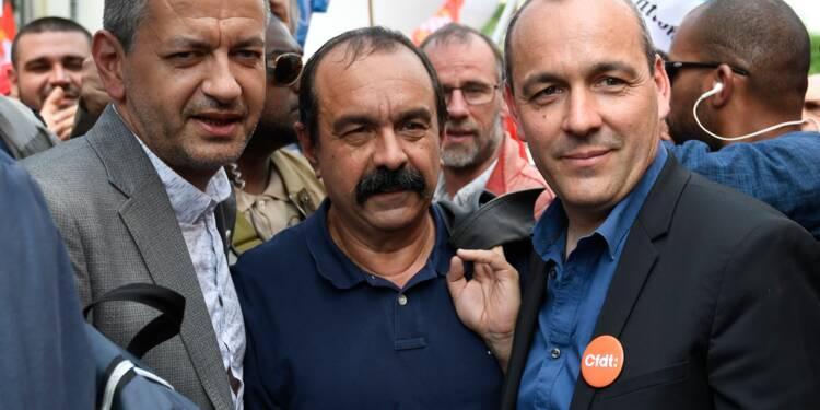 Début de la manifestation parisienne pour la défense de la fonction publique